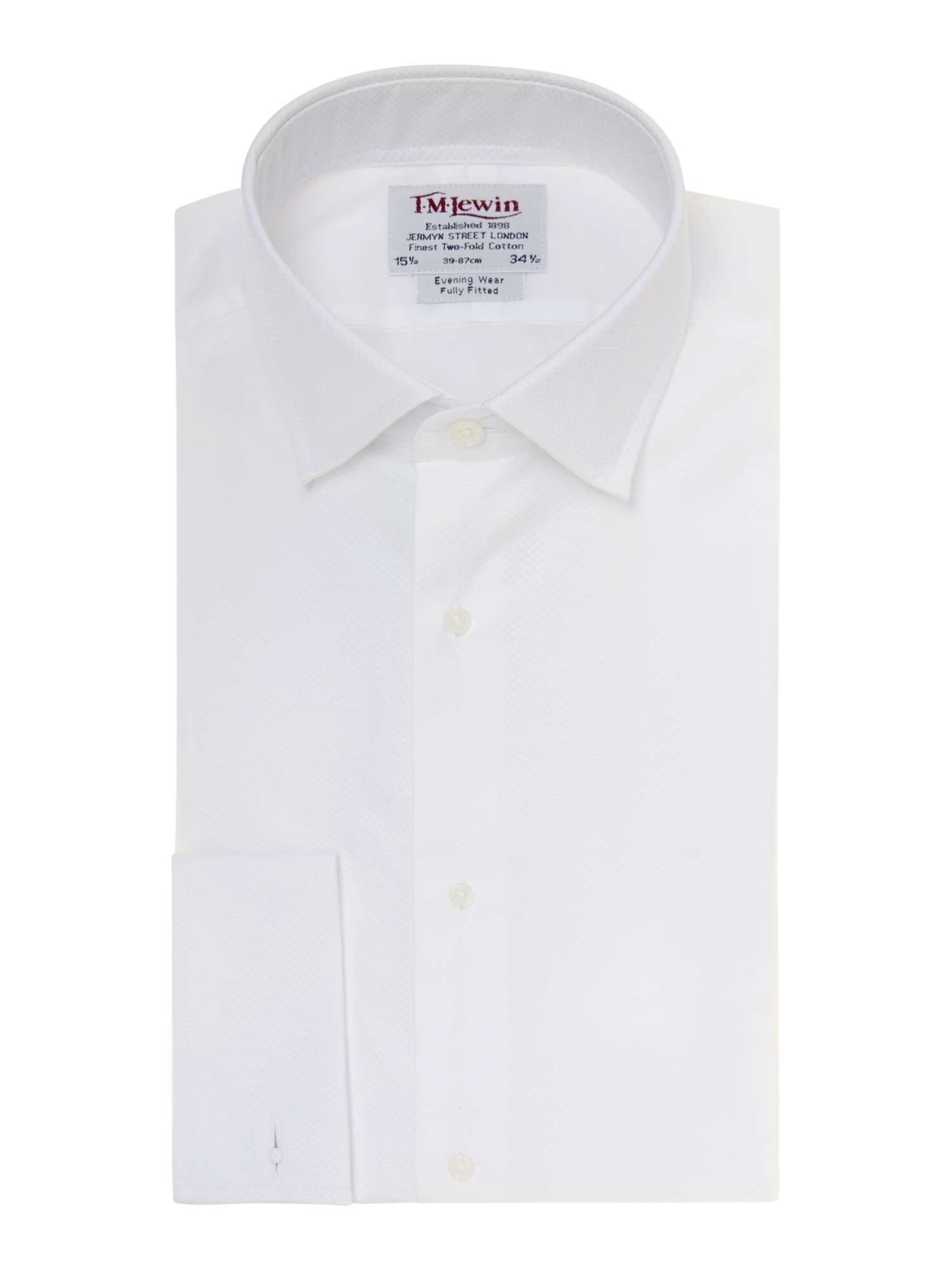 Tm Lewin Marcella Plain Fully Fitted Dress Shirt House Of Fraser