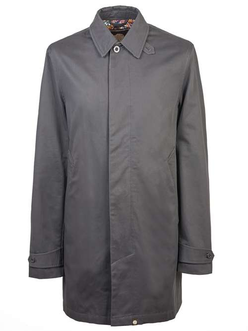 7008576512f Pretty Green Button Up Mac - House of Fraser