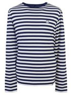 Men's Pretty Green Long Sleeve Striped T-Shirt