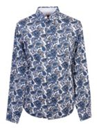 Men's Pretty Green Slim Fit Paisley Print Shirt