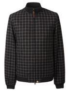 Men's Pretty Green Check Bomber Jacket