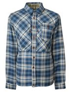 Men's Pretty Green Slim Fit Check Shirt