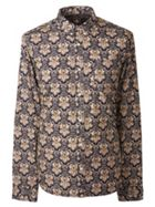 Men's Pretty Green Slim Fit Abstract Print Shirt