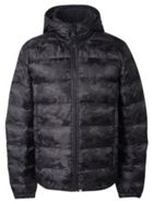 Men's Pretty Green Camo Quilted Jacket