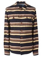 Men's Pretty Green Striped Overshirt