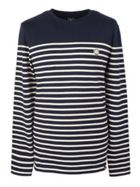 Men's Pretty Green Long Sleeve Bretton Stripe T-Shirt