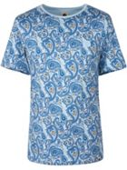 Men's Pretty Green Paisley Print T-Shirt