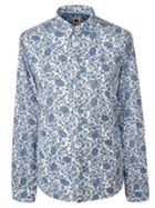 Men's Pretty Green Slim Fit Ditsy Printed Shirt