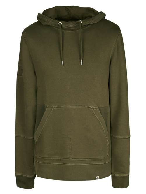 7aaf8e6f97d Pretty Green Garment Dyed Hoodie - House of Fraser