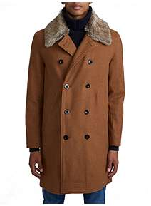 Pretty Green Double Breasted Trench Coat Pretty Green Double Breasted  Trench Coat 3ae2a8505