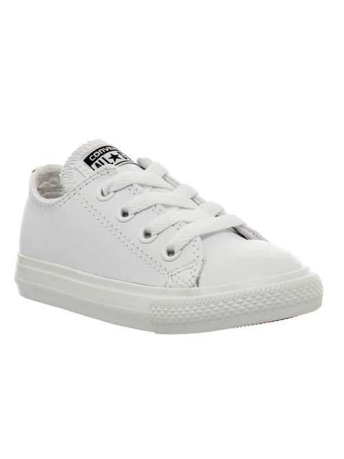 Converse Kids All Star Ox Leather Infant Trainers - House of Fraser 10a0c23a3bf4