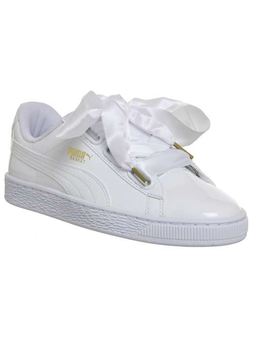 1114a47eb134 Puma Basket Heart Trainers - House of Fraser