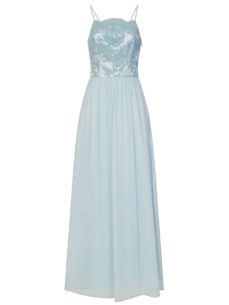 Chi Chi London Strappy Embroidered Maxi Dress - House of Fraser