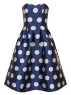 Chi Chi London Polka Dot Midi Dress