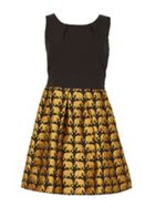 TENKI Sleeveless Elephant Skater Dress