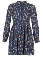 TENKI Full Sleeve Floral Patterned Dress