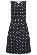 Havren Edith Polka Dot Dress