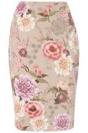 Havren Floral Pencil Skirt