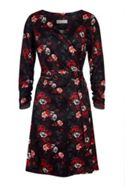 Havren Kylie Printed Wrap Dress