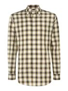 Men's TM Lewin Check Classic Fit Long Sleeve