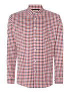 Men's TM Lewin Check Slim Fit Long Sleeve