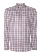 Men's TM Lewin Country Check Slim Fit Long