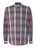 Men's TM Lewin Check Button Down Shirt