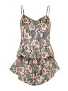 Lotus Print Playsuit