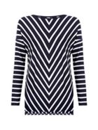 Hobbs Emillie Chevron Top