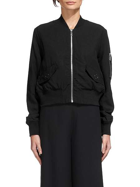 Whistles Rudy Casual Bomber Jacket - House of Fraser