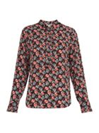 Apple Print Blouse
