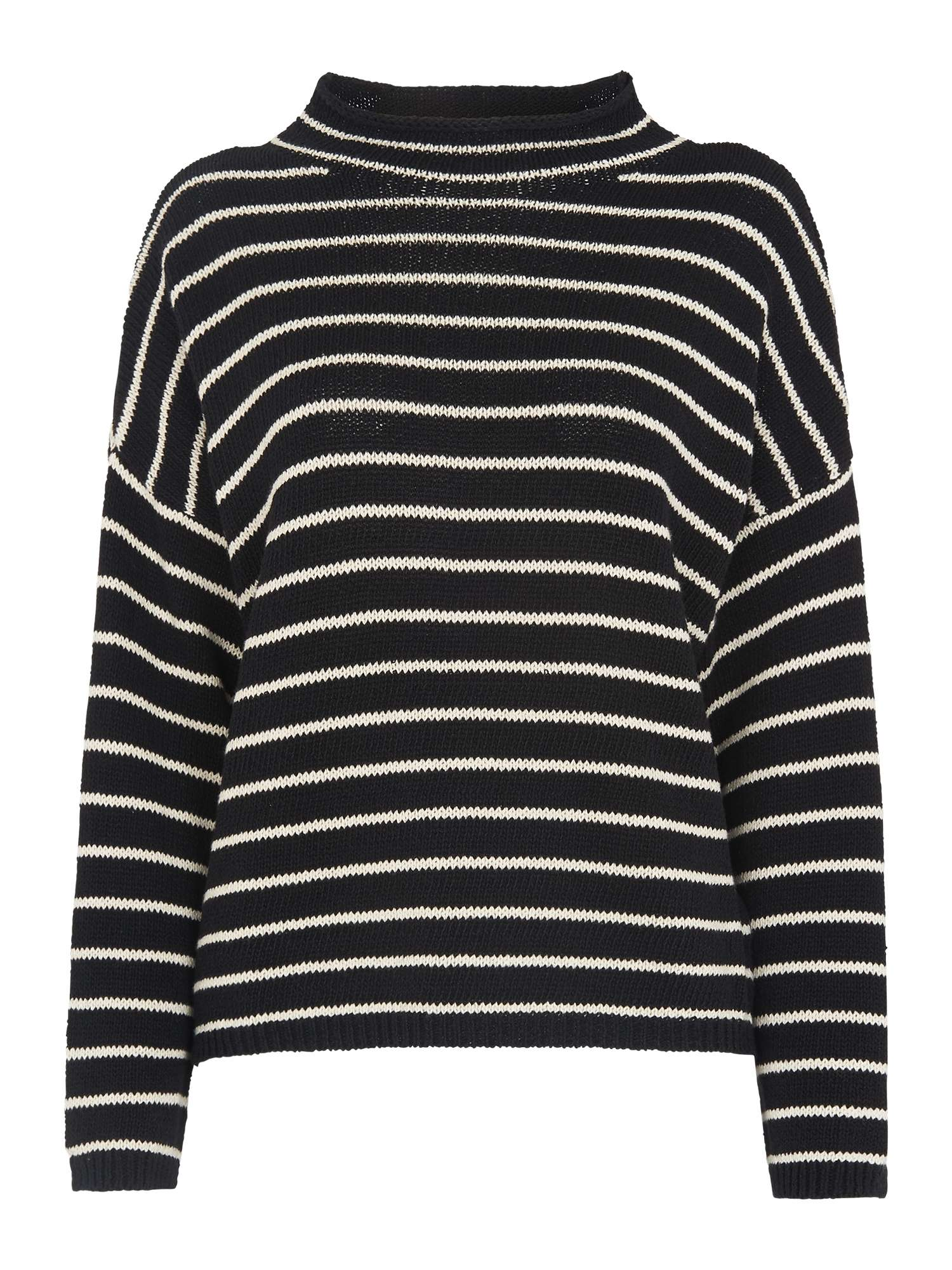 Whistles Fine Whistles Relaxed Stripe Sweater Fine Stripe 0drqad