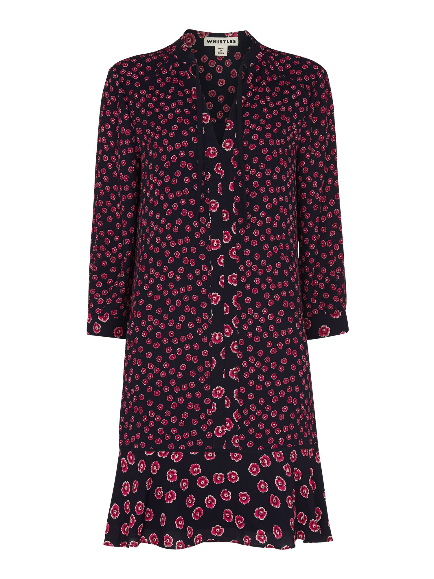 Whistles Isabella Print Shirt Dress House Of Fraser