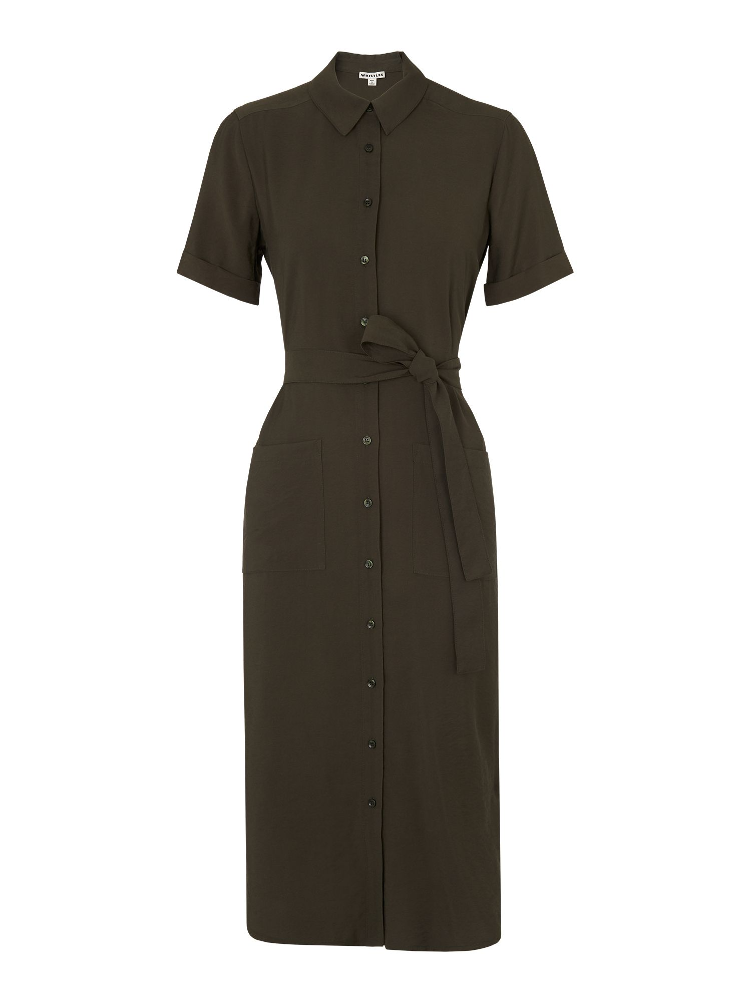 Whistles Montana Longline Shirt Dress House Of Fraser