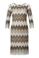 James Lakeland Zig Zag Lace Dress