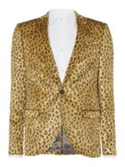 Men's Noose and Monkey Dante Leopard Print Jacket