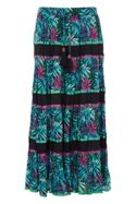 Roman Originals Tropical Print Skirt