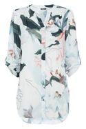 Roman Originals Lightweight Pastel Floral Blouse