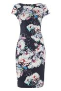 Roman Originals Floral Print Jersey Dress