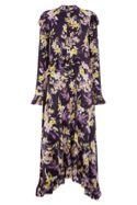 Orchid Flared Cuff Dress