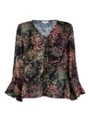 Warehouse Wild Garden Tie Top