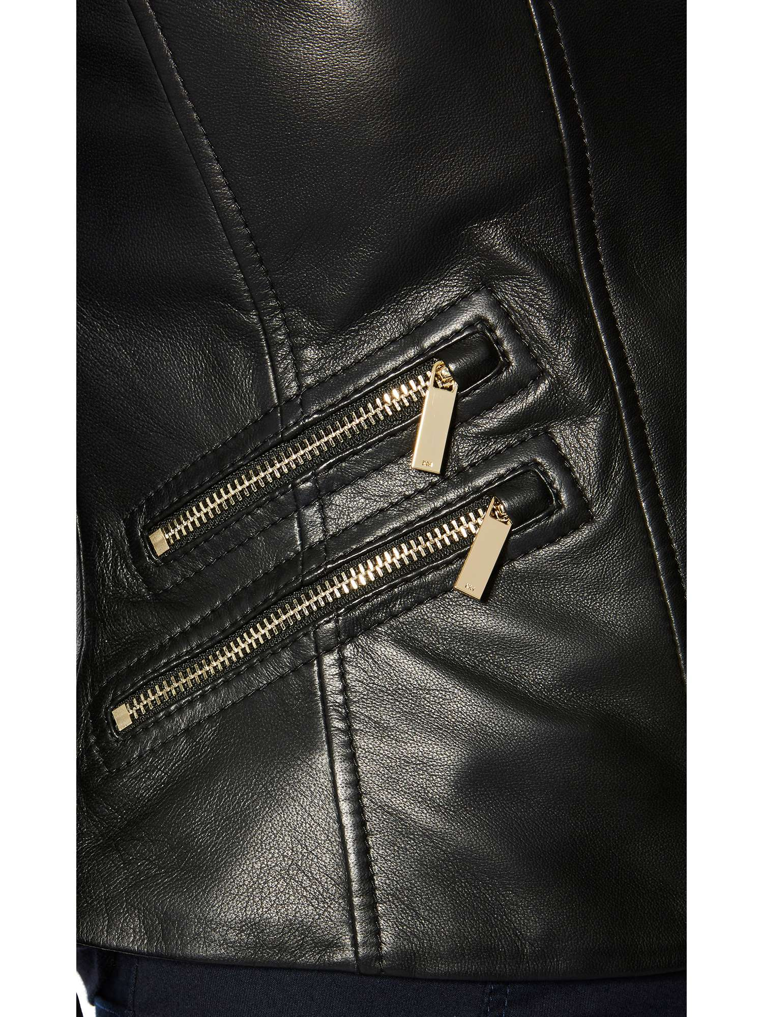 Millen Leather Jacket Karen Trims Gold XAvCwC0qW