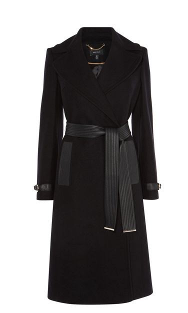 Belted Trench Coat by Karen Millen