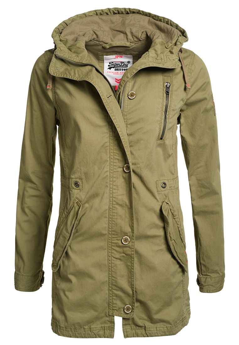 Olive Green Womens Jacket