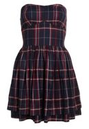 Savannah Prom Plaid Dress