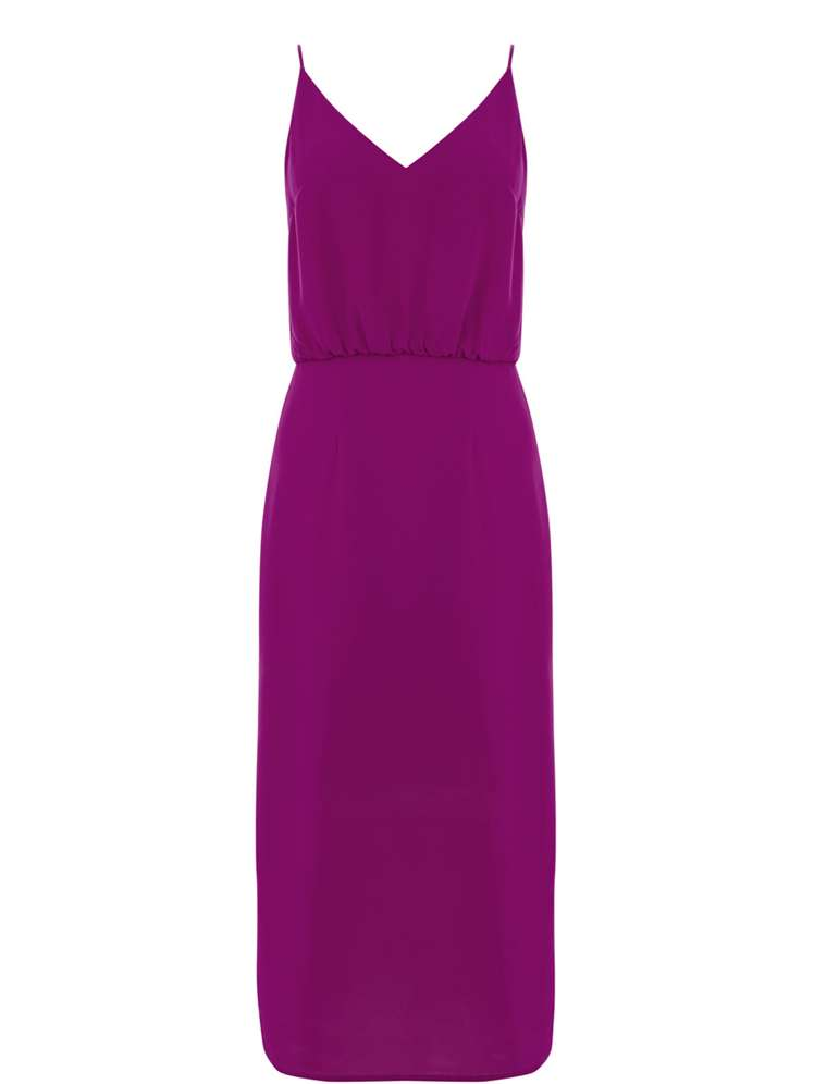 Oasis Plain Midi Dress - House of Fraser