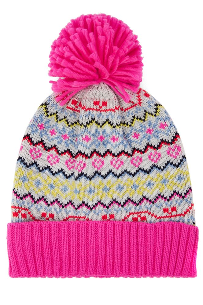 Oasis Fair Isle Beanie - House of Fraser