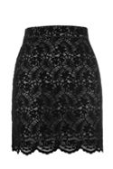 Oasis Ntu Robin Flocked Lace Mini Skirt
