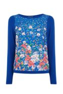 Oasis Painted Meadow Tie Back Knit