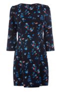 Oasis Ruby Floral Print Shift Dress